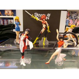Re: Cutie Honey Part 2 HGIF - Bandai - Gashapon set Completo