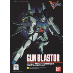 V Gundam MS COLL 11 - League Militaire LM111E03 - Gunblastor - 1/144