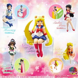 Sailor Moon - Desktop Figure Collection - Gashapon SET Vol.1 - Complete 5 Figure SET