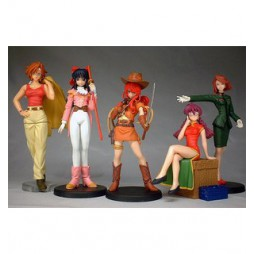 Sakura Wars part 5 - Bandai HGIF Gashapon Figure Full Set - Set Completo