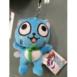 Fairy Tail Plush - Happy - Keychain - Portachiavi Mini Peluche