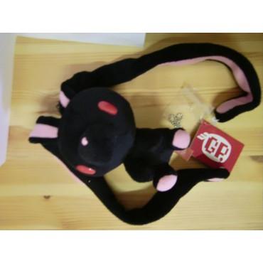 Gloomy Plush - Gloomy Mini Peluche RABBIT Keychain - Strap - NERO - Peluche 10 cm