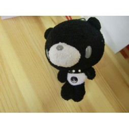 Gloomy Plush - Gloomy Mini Peluche Teddy Bear NERO - BIANCO - Peluche 10 cm