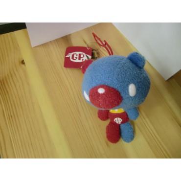 Gloomy Plush - Gloomy Mini Peluchei Teddy Bear BLU - ROSSO - Peluche 10 cm