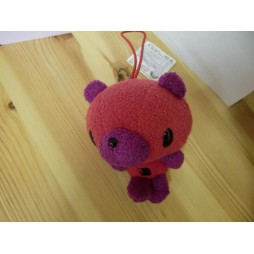 Gloomy Plush - Gloomy Mini Peluchei Teddy Bear ROSSO - VIOLA - Peluche 10 cm