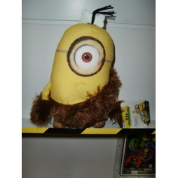 Minions The Movie Plush - Minion Caveman Stuart (Cavernicolo) - Peluche 24 cm