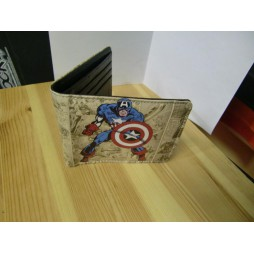Marvel Comics - Capitan America - Captain America Portafoglio Captain America Vintage Marvel Comics