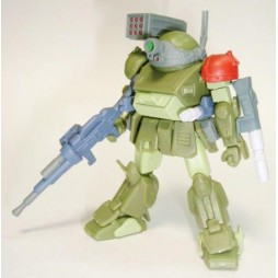 Sunrise Robot Selection Vol.2 Gashapon Figure Set Bandai - VOTOMS SCOPEDOG 1 (Green Red shoulder)