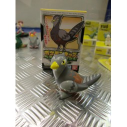 Pokemon - Kids BW Finger Puppets Sofubi Vinyl Figure Set - 609 Unfezant Female - Loose