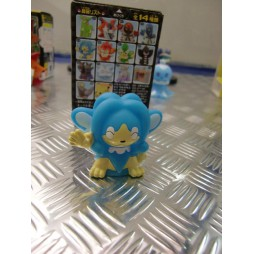 Pokemon - Kids BW Finger Puppets Sofubi Vinyl Figure Set - 619 Simipour - Loose