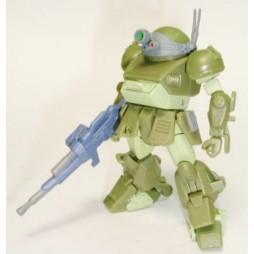 Sunrise Robot Selection Vol.2 Gashapon Figure Set Bandai - VOTOMS SCOPEDOG 2 (Green)
