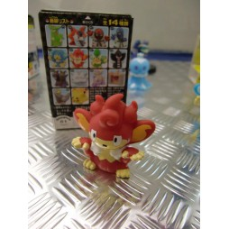 Pokemon - Kids BW Finger Puppets Sofubi Vinyl Figure Set - 620 Simisear - Loose