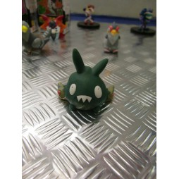 Pokemon - Kids BW Finger Puppets Sofubi Vinyl Figure Set - Trubbish - Loose