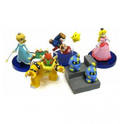 Super Mario Galaxy - Gashabox Gashapon SET - Complete 5 Figure - SET