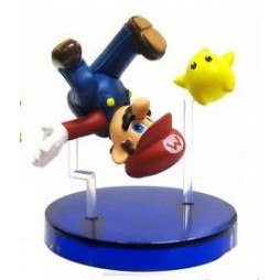 Super Mario Galaxy - Gashabox Gashapon SET - Super Mario Star - Mini Diorama