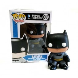 POP! Heroes 001 DC Comics Super Heroes Batman 4-inch Vinyl Deformed Figure