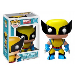 POP! Marvel 005 X Men Wolverine Vinyl Bobble-Head Figure