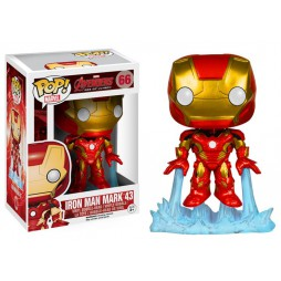 POP! Marvel 066 The Avengers 2 Iron Man Mark 43 Vinyl Bobble-Head Figure