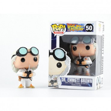 POP! Movies 050 Back to the Future Dr Emmet Brown Vinyl Figure