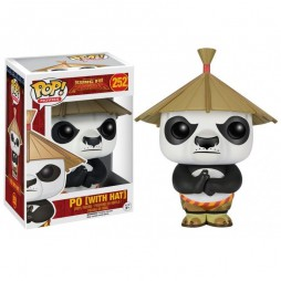 POP! Movies 252 Kung Fu Panda Po (With Hat) Vinyl Figure