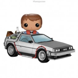 POP! Rides 02 Movies Back To The Future Ritorno al Futuro Marty McFly & Time Machine