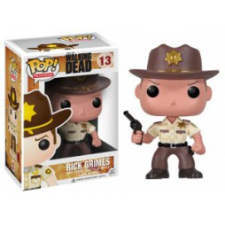 POP! TV 013 The Walking Dead Rick Grimes Deformed Figure