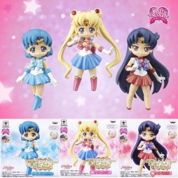 Sailor Moon - Crystal Atsumete Figure For Girls 1 - SET