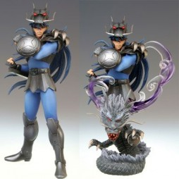 Saint Seiya - Super Figure Chapter Gold Sign of The Zodiac - 12 Houses - Dragone Nero (Black Dragon) limited