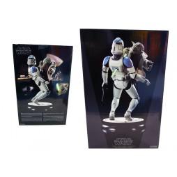 Star Wars - Sideshow Premium Format Figure - Yoda VS Clone Trooper