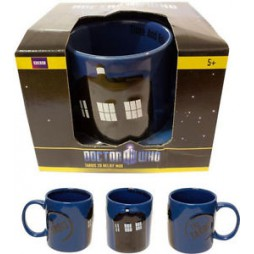 Doctor Who - Tazza - Mug Cup - TARDIS - 2D RELIEF MUG