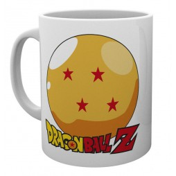 Dragon Ball - Tazza - Ceramic Mug Cup - Sfera Del Drago 4 Stelle