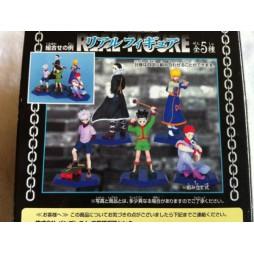 Hunter X Hunter - Real Figure - Figure Complete set 5 Figure