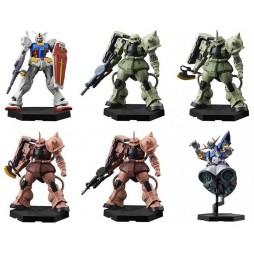 Gundam - Kidou Senshi Gundam - Hybrid Grade - Gashapon Set - Complete 6 Figure+Secret Special - SET