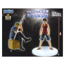 One Piece - Dramatic Showcase 2nd season Vol.3: Zoro e Luffy