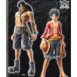 One Piece - Master Stars Piece - Revival Luffy + Ace - SET