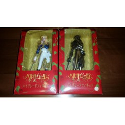 Rose of Versailles - Lady Oscar - Sega Prize Figure - Oscar (Ver. 1 Blu Uniform Jacket) + Oscar (Ver. 2 Spec Gold Unifor