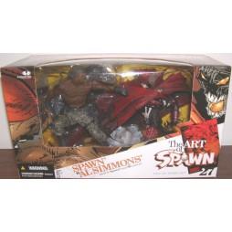 The art of Spawn - Spawn vs Al Simmons - Mc Farlane Toys