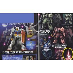 Gundam - Kidou Senshi Gundam - Hybrid Grade - Gashapon Set - Secret Special