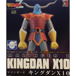 Dynamite Action Limited - Mazinger Z - Mazinga Z - Kingdan X-10 - Anime Export Exclusive