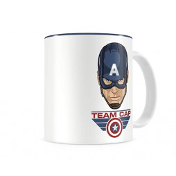 Marvel Comics - Captain America Civil War - Tazza - Mug Cup - Team Cap - SD Toys