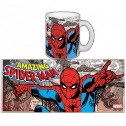 Marvel Comics - Marvel Comics Retro - Tazza - Mug Cup - Spider-Man Cassic - Semic