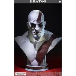 God of War Kratos Life Size Bust LIMITED