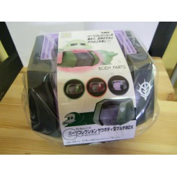 Gundam Body Parts Zaku II Body Multi Box - Versione Black/Purple livrea Rick Dom - Banpresto