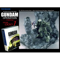 Gundam Operation A Baoa Qu Coll. 1 MS-06F Zaku II - Toybook
