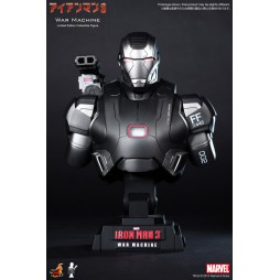 Iron Man 3 - Hot Toys - 1:4 Size - War Machine - BUST