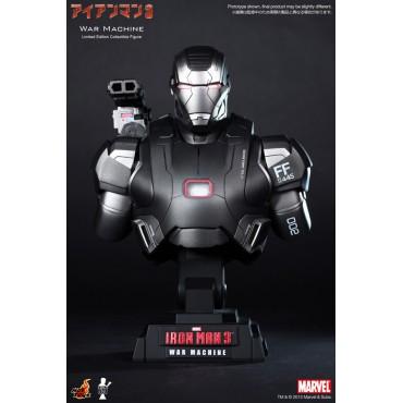 Iron Man 3 - Hot Toys - 1:4 Size - War Machine - BUST
