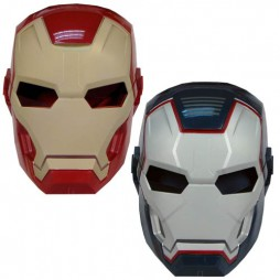 Iron Man 3 Mark 42 Iron Patriot Mask SET