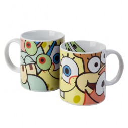Spongebob Squarepants - Tazza - Mug Cup - Faces