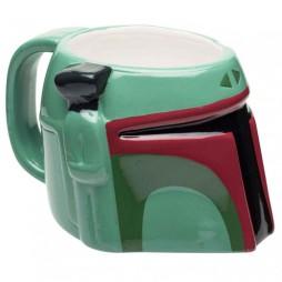 Star Wars - Tazza - Mug Cup - Ceramic 3D Character Sculpt - Boba Fett