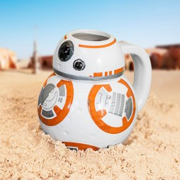 Star Wars - Tazza - Mug Cup - Ceramic 3D Character Sculpt - EP. VII - BB-8